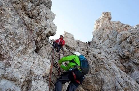 Klettersteig in der Brenta