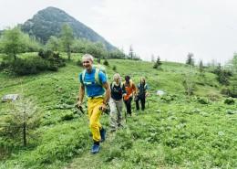 Wanderung Gruppe