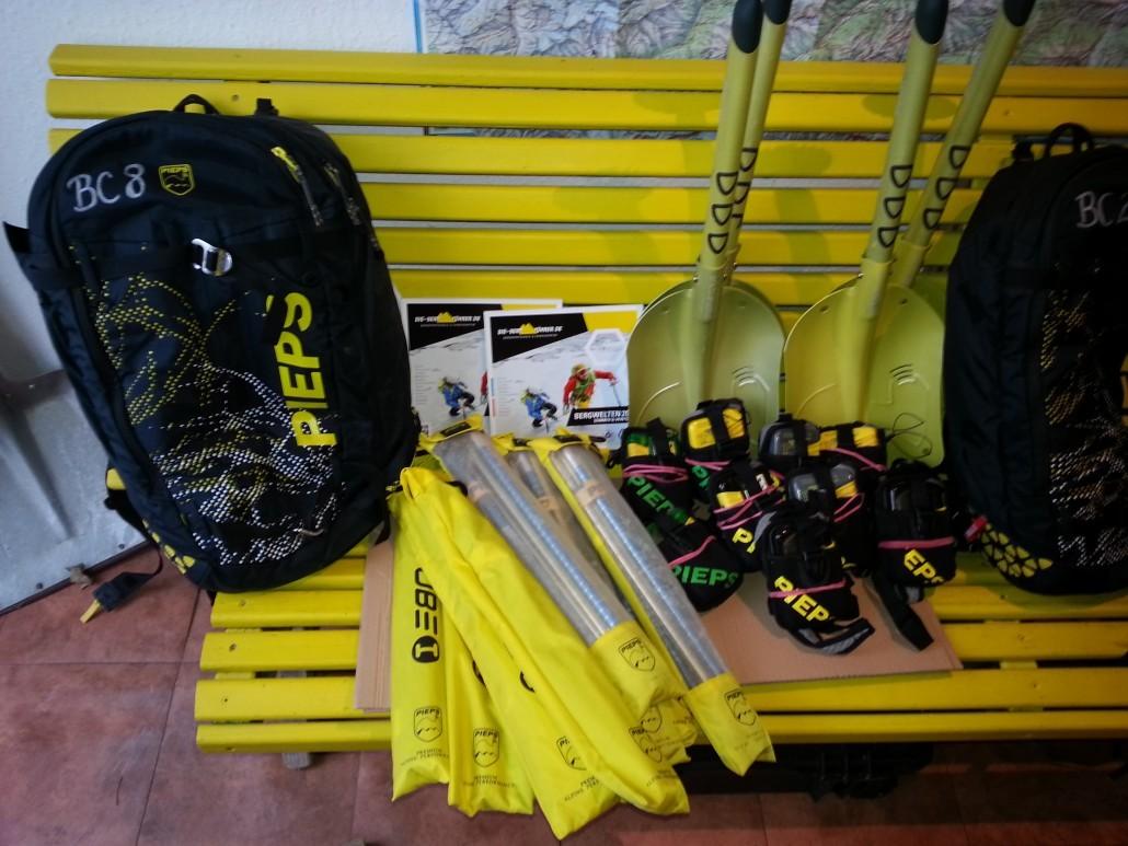 Klettersteigset Verleih Garmisch : Verleih testcenter die bergführer