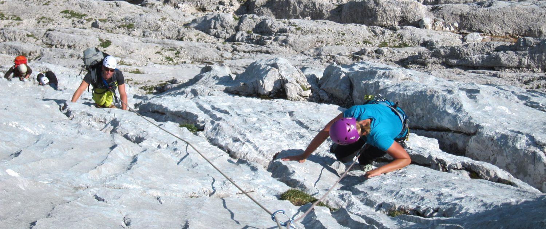 Basiskurs Alpinklettern