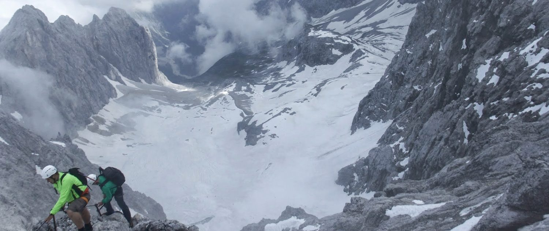 Klettersteig auf die Zugspitze