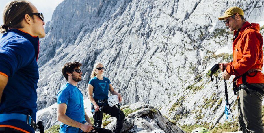 Klettersteigset Verleih Garmisch : Klettersteigausbildungskurs in garmisch die bergführer