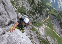 Alpinklettern Alpspitze
