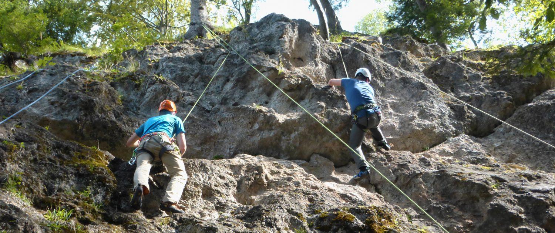 Kletterkurs Einsteiger