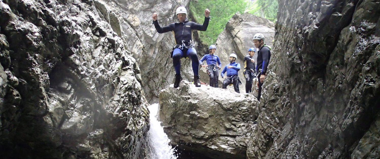 Canyoning mit Bergführer