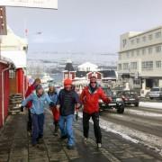 Skitour in Island
