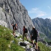 Klettern auf der Zugspitze