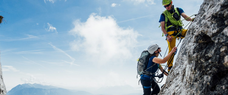 Klettersteig Alpspitze