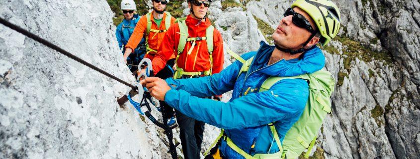 Klettersteigführung auf die Alpspitze