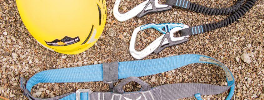 Ausrüstung Klettersteig