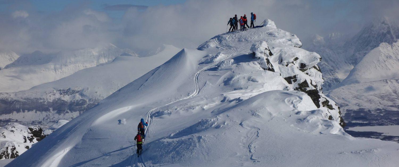 Norwegen Skitouren Gipfel