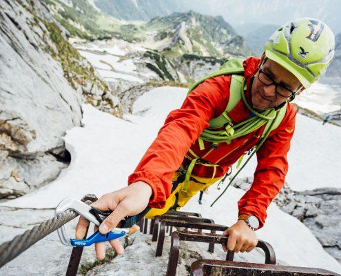 Klettersteigset Verleih Garmisch : Klettersteige und klettersteig kurse die bergfÜhrer