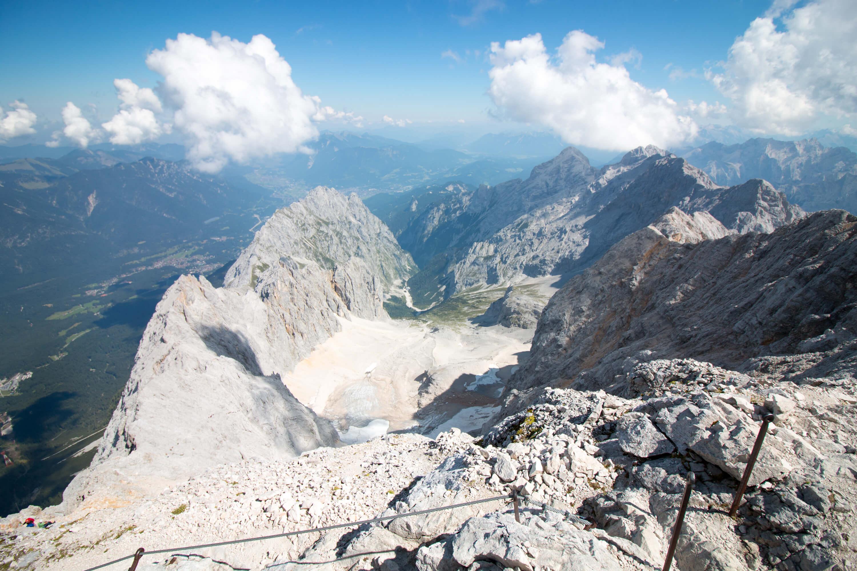 Klettersteigset Verleih Garmisch : Aktuelle verhältnisse rund um die zugspitze bergführer