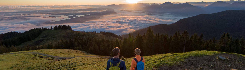 Ausblick auf umgebende Bergwelt