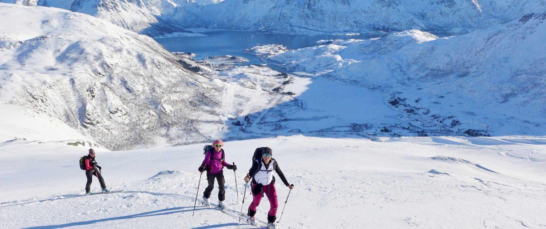 Skitour Norwegen Lofoten