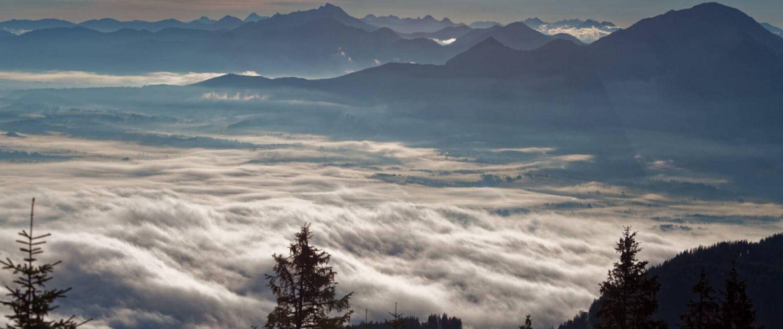 Wanderung durch die Ammergauer Alpen