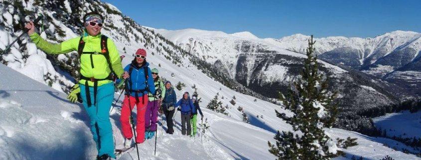 Skitouren - Trip in die spanischen Pyrenäen in Val d Aran