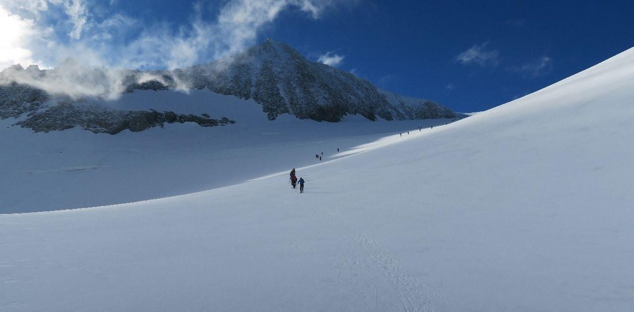 Gletscherkurs mit Bergführer