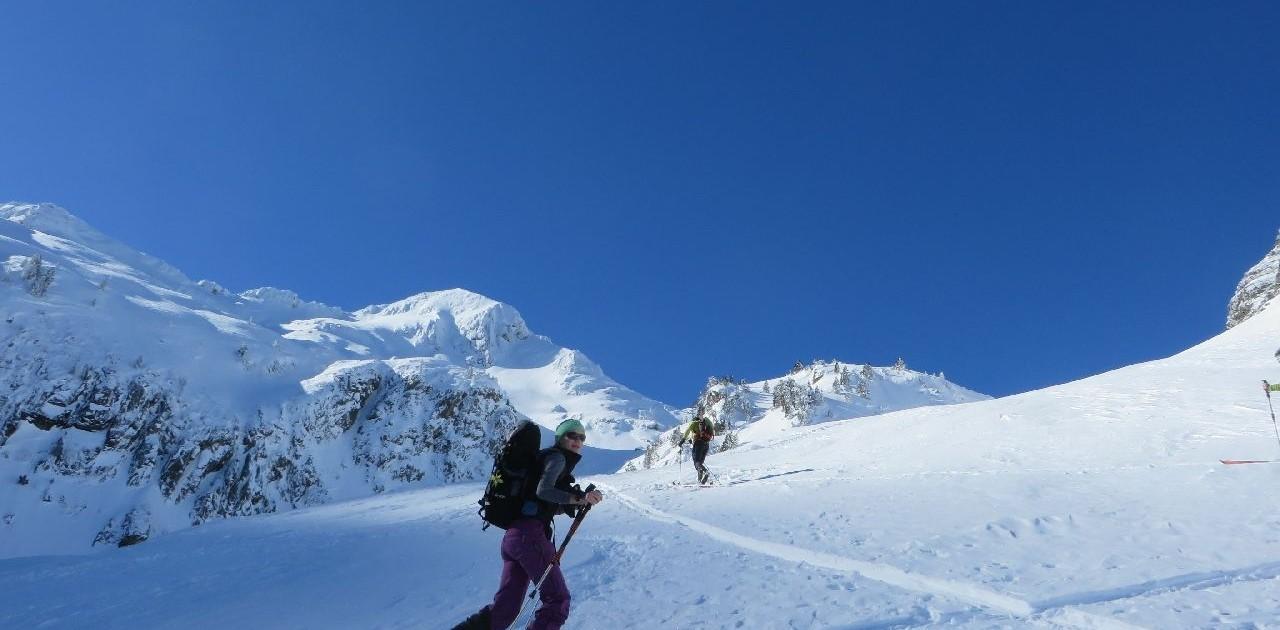 Anspruchsvolle Skitouren