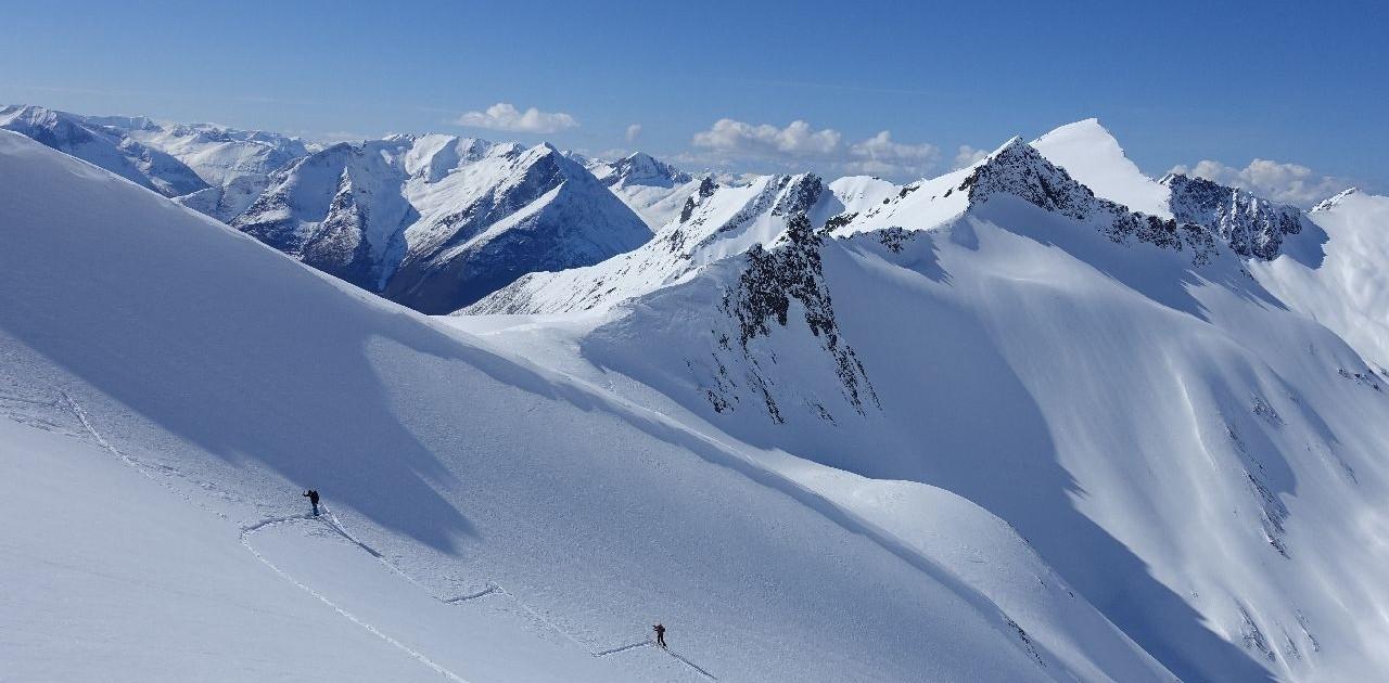 Einsame Skitouren-Aufstiege