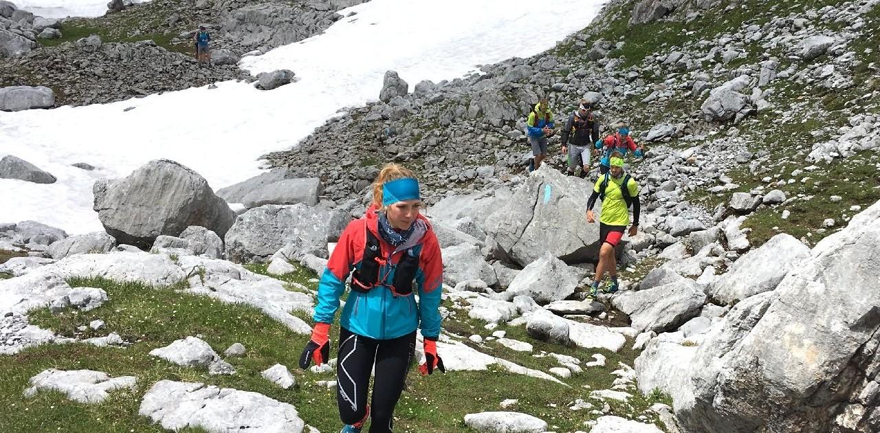 Schöne Bergwege Speedtransalp Garmisch Meran