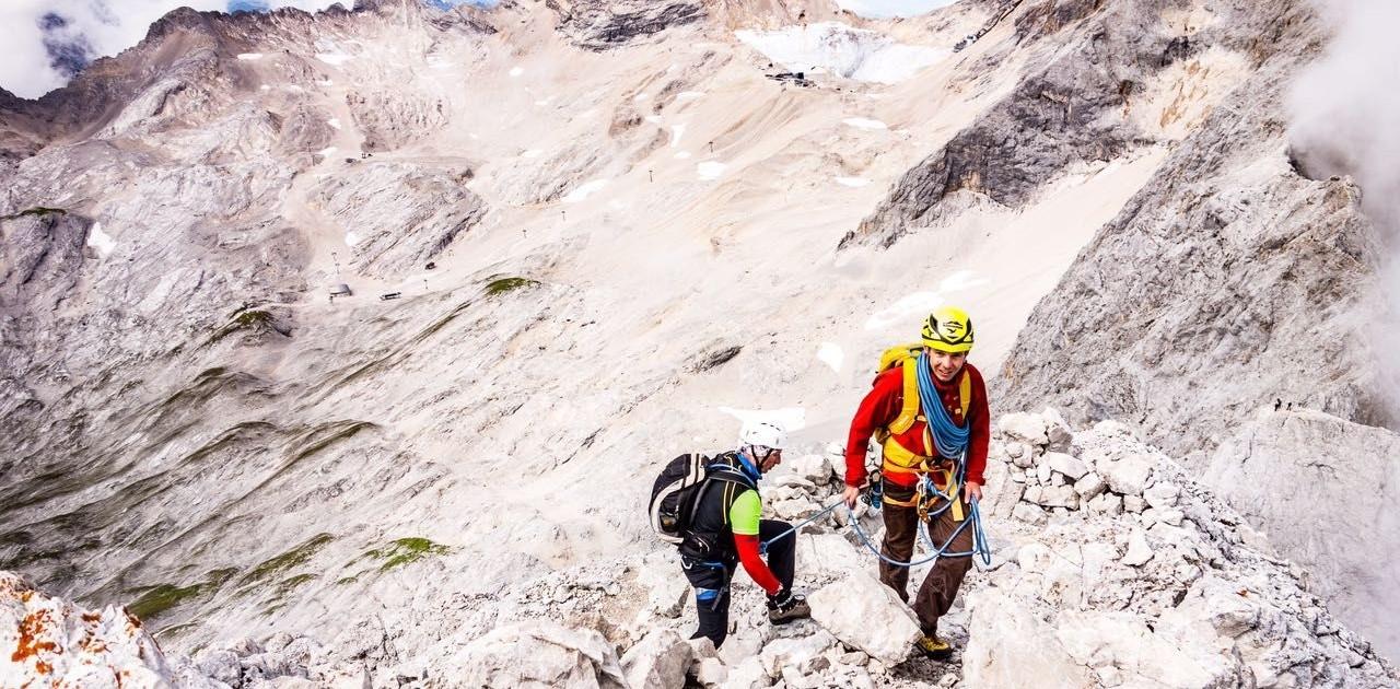 Führung Jubigrat mit Bergführer