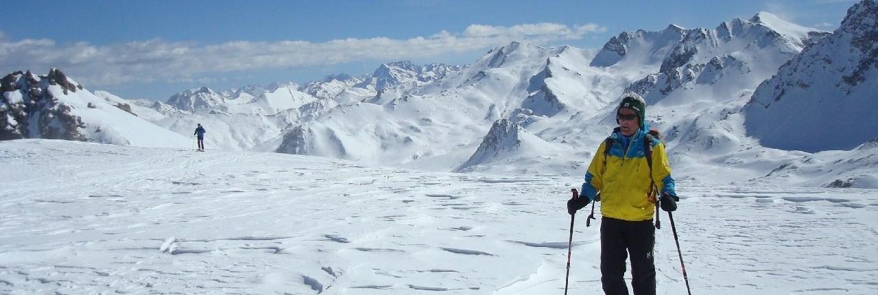Skitouren mit Weiblicken im Valle Maira