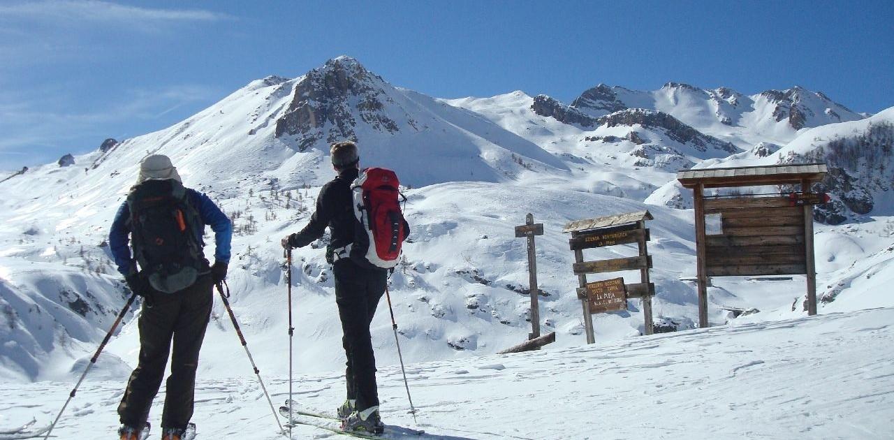 Wir genießen einsame Aufstiege im Piemont