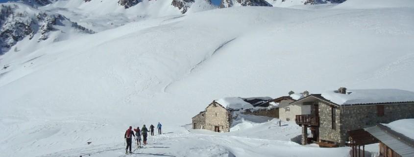 Skitouren im einsamen Piemont