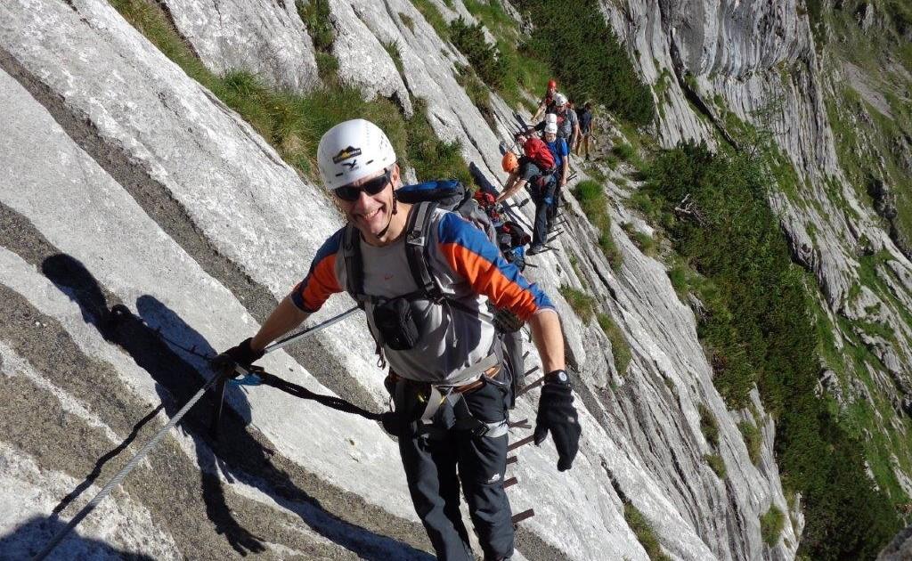 Klettersteiggenuß