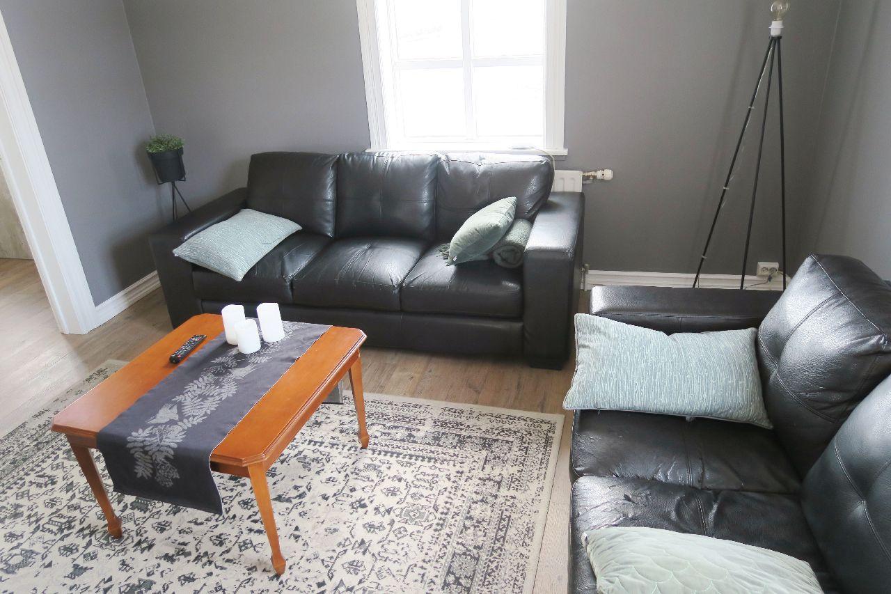 Gemütliches Wohnzimmer auf unserer Lodge in Island