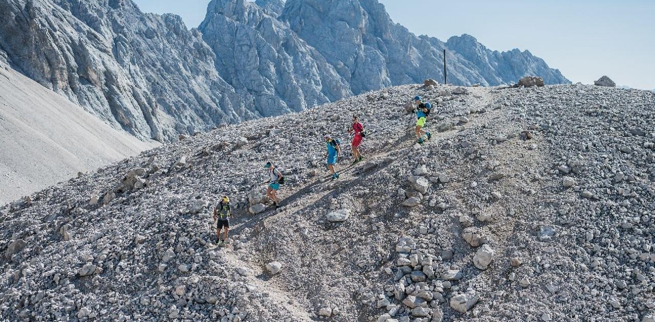 Es gibt immer wieder anspruchsvolle Teilstücke auf der Transalp Garmisch-Meran