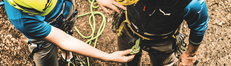 Klettern richtig lernen