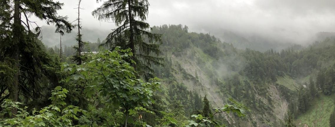 Mystische Stimmung auf der Alpenüberquerung Tegernsee-Sterzing