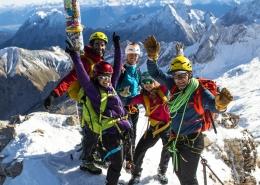 Die pure Gipfelfreude auf der Zugspitze genießen