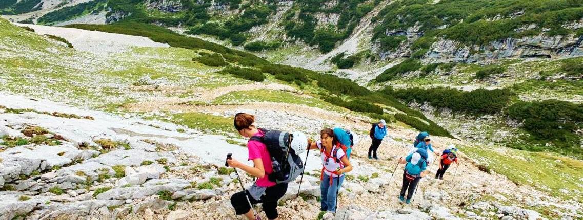 Wir nähern uns dem Gipfel der Zugspirze