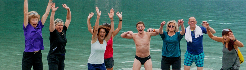 Das Ziel den Lago di Molveno haben wir erreicht