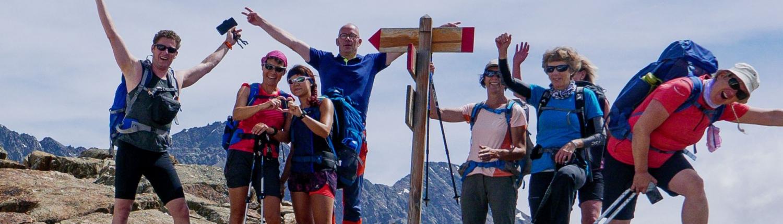 Pure Freude bei der Alpenüberquerung Meran Molvenosee