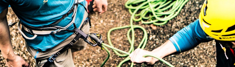 Wir bieten Kletterkurse in Bayern für Einsteiger an