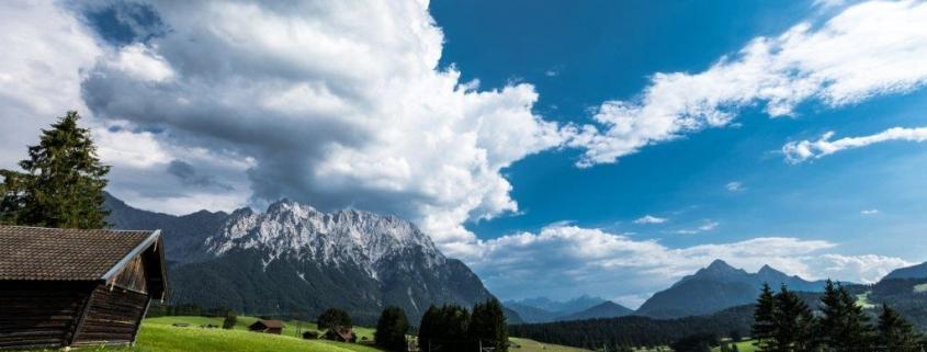 Wunderschöne Wanderung mit Wettersteinpanorma